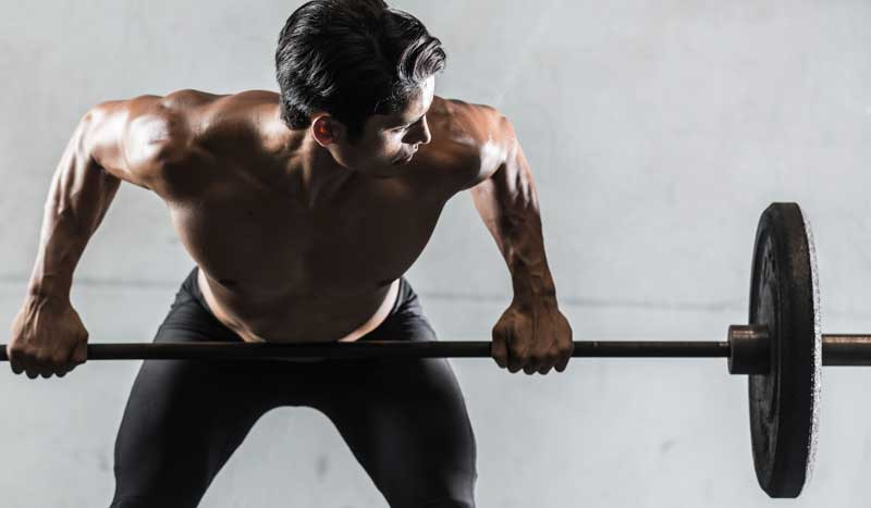 Construir fuerza y músculo con singles pesadas 4