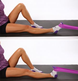 Image result for dorsiflexion stretch