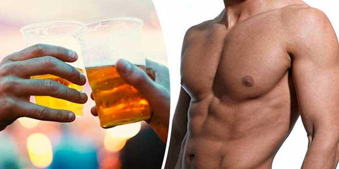 El consumo de alcohol inhibe el crecimiento muscular 1