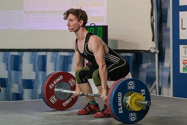 Rutina fuerza 3x5 con iniciación a los levantamientos olímpicos 1