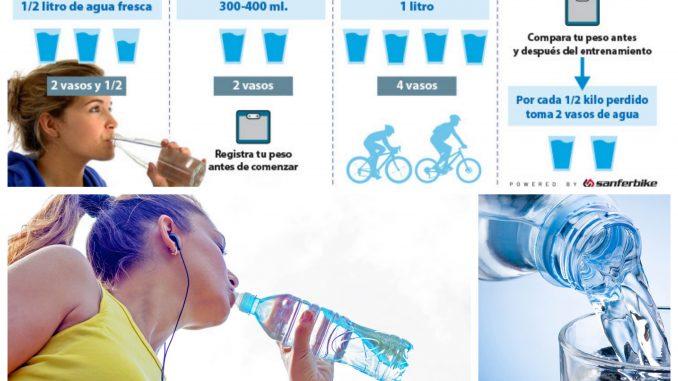 Hidratación en el deporte     1