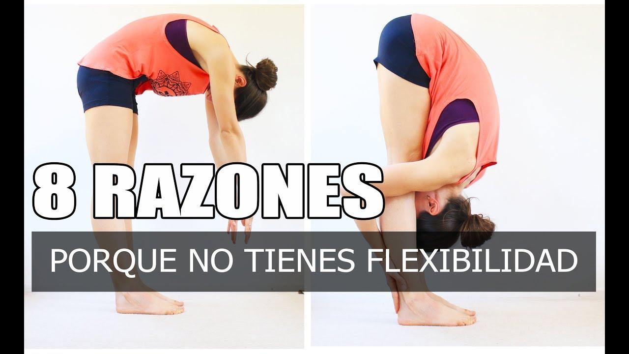 Razones para entrenar la flexibilidad 4