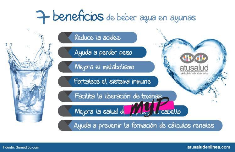 Beneficios de tomar agua 4