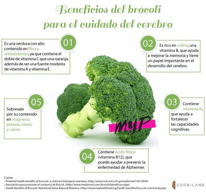 Beneficios del brócoli 1