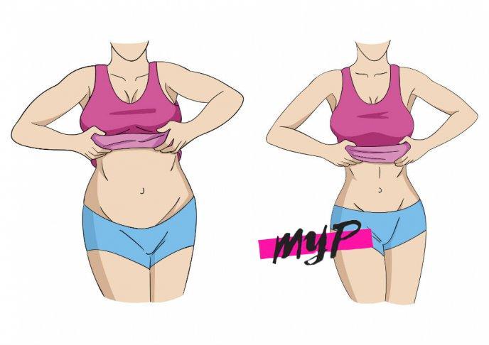 Tener un abdomen plano 6