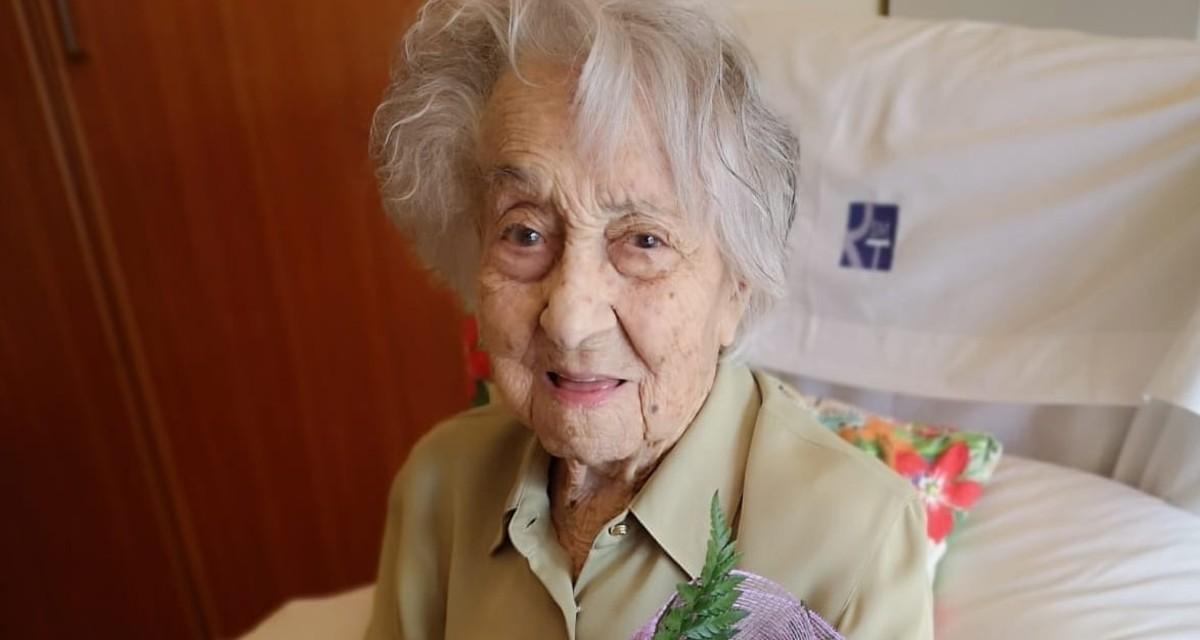 A los 113 años, la mujer más vieja de España derrota al nuevo coronavirus 1