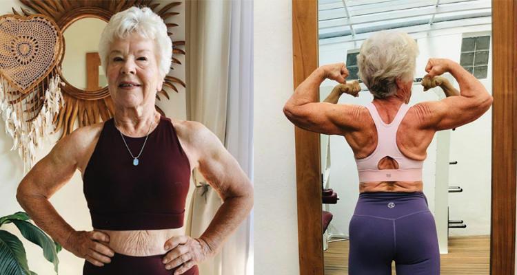 Grandma Fitness, que perdió más de 28 kg a los 73 años, demuestra que nunca es tarde para comenzar 1