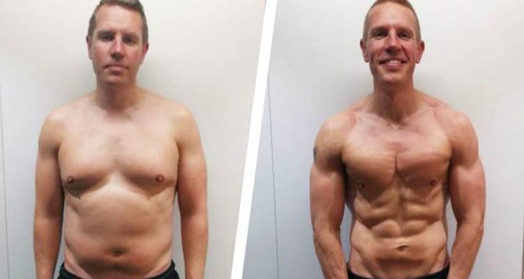 Cómo fue definido en 3 meses con una dieta simple y ejercicio a los 42 1