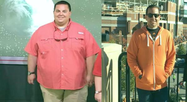 Después de tener 176 kg, cambió su dieta, comenzó a hacer ejercicio y perdió 81 kg en 10 meses. 5