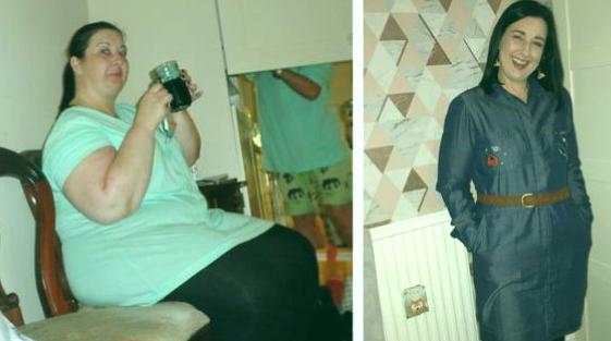 Madre pierde más de 25 kg para sentirse bien en la graduación de su hija 1