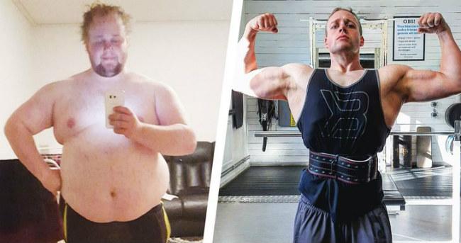 Este chico perdió 81,6 kg aprendiendo a comer y hacer ejercicio de forma más inteligente 41