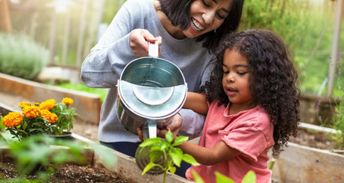 Participar en un jardín comunitario puede ser muy bueno para su salud 1