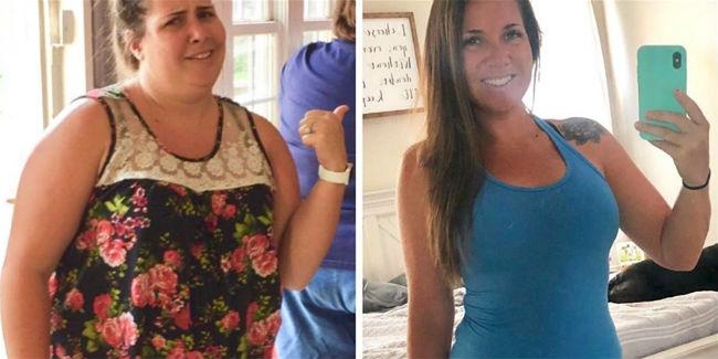Gracias al ayuno intermitente y la dieta cetogénica, las mujeres pierden 45 kg en 1 año 14
