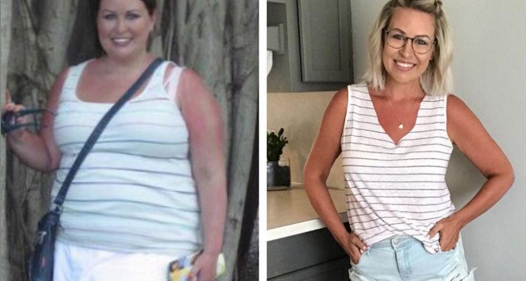 Mira la historia de la mujer que perdió 50 kg hasta correr una media maratón 1