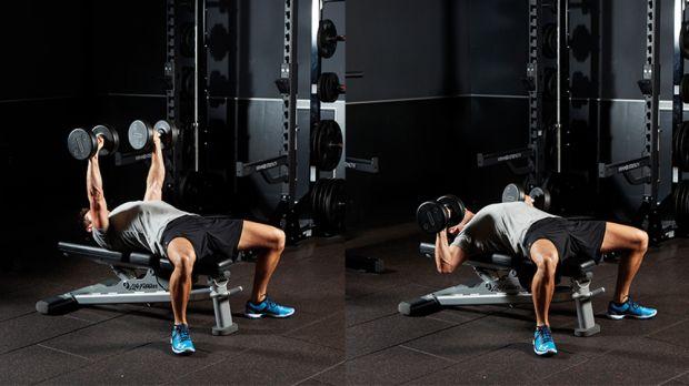 7 ejercicios de pecho con mancuernas (con entrenamiento incluido) 1