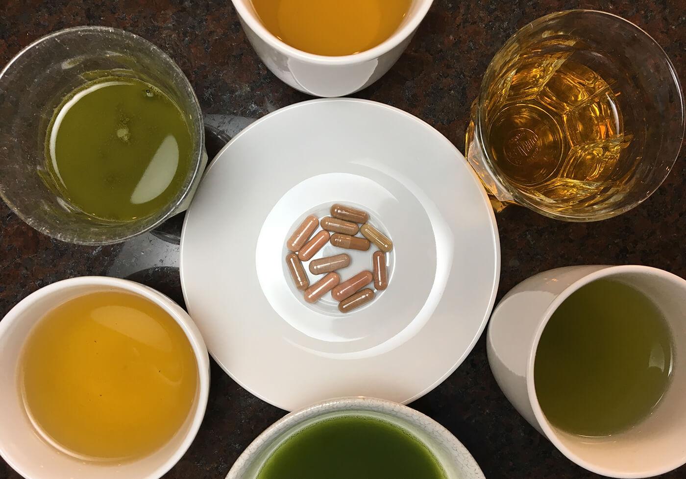 Revisión de té verde: suplementos, preparable, matcha y embotellado 1
