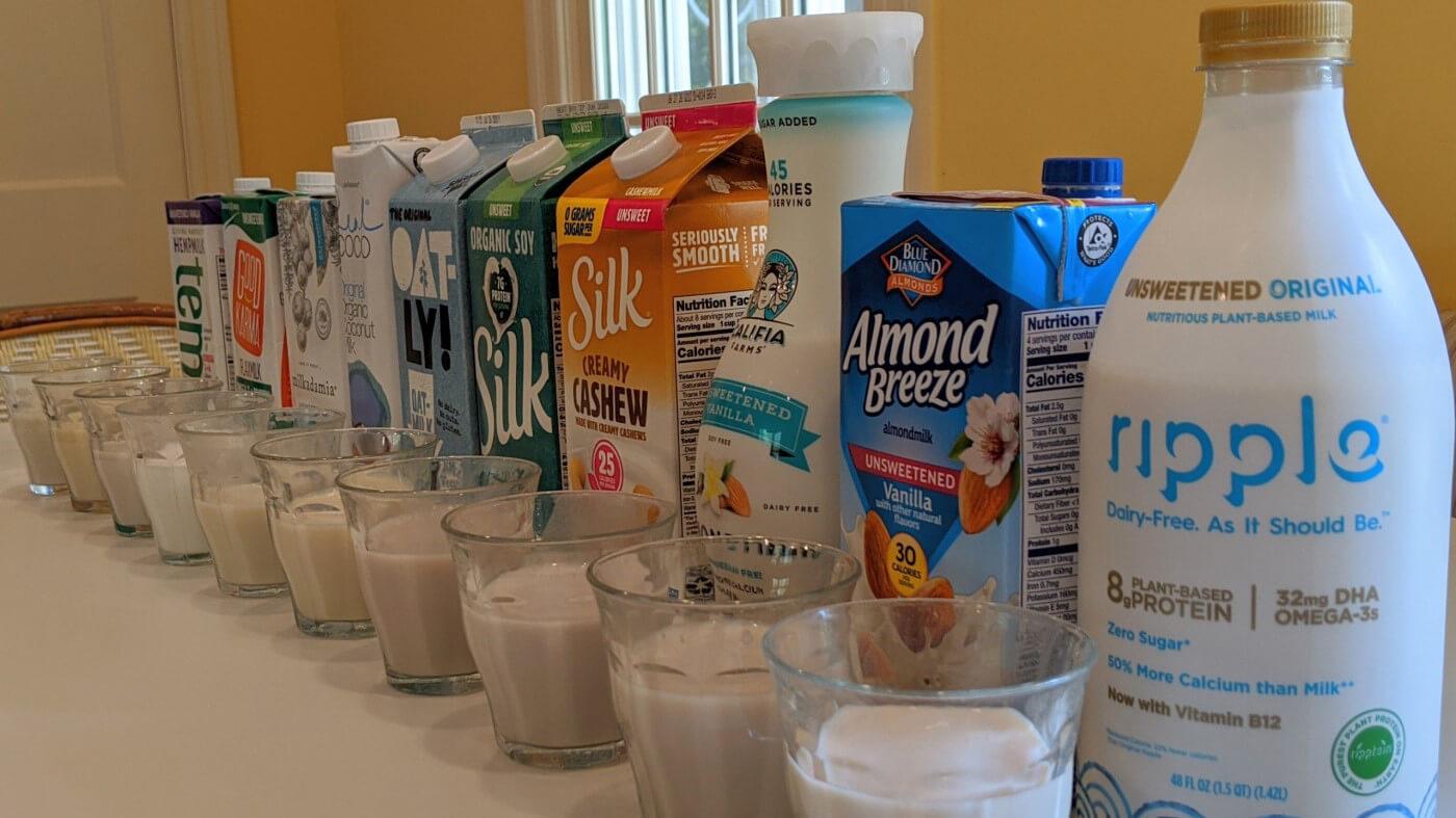 Revisión e información de la leche de origen vegetal 1