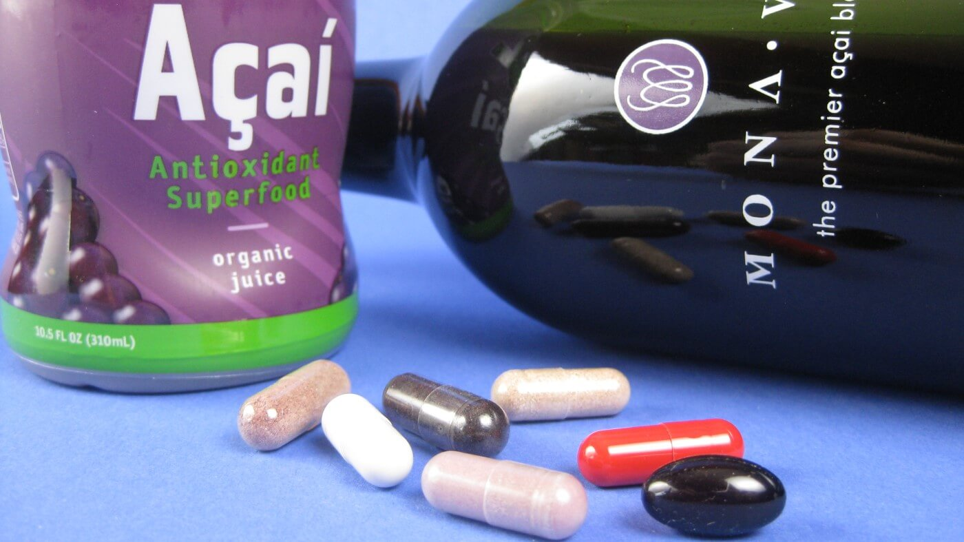 Reseñas de suplementos y bebidas de Acai Berry 1