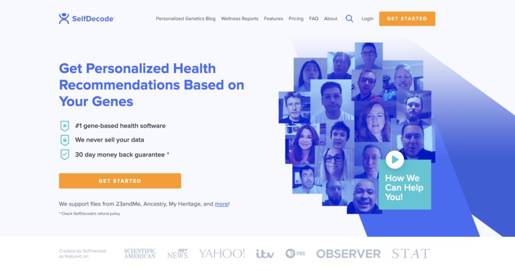 Revisión de SelfDecode: cargue sus datos de ADN sin procesar y obtenga análisis de salud 1