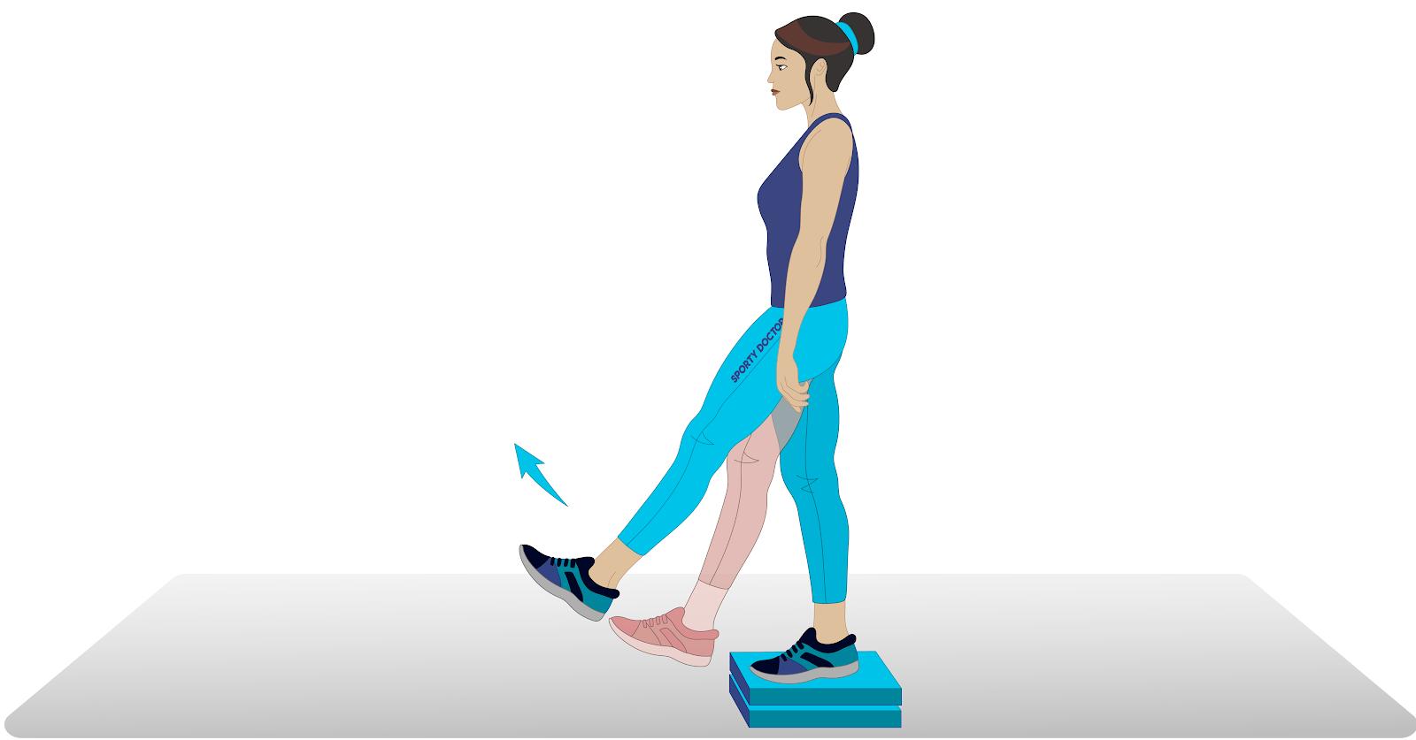 6 Estiramiento de cadera efectivo para caderas tensas y dolor de cadera 4