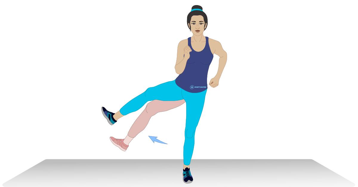 6 Estiramiento de cadera efectivo para caderas tensas y dolor de cadera 3